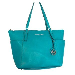 Michael Kors beautiful blue purse
